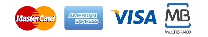 Logotipos de métodos de pago
